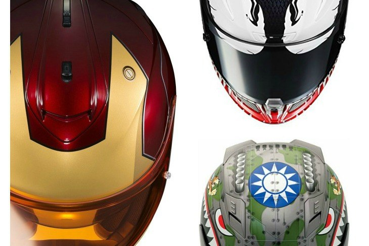 Graphic Novelty Motorcycle Helmets